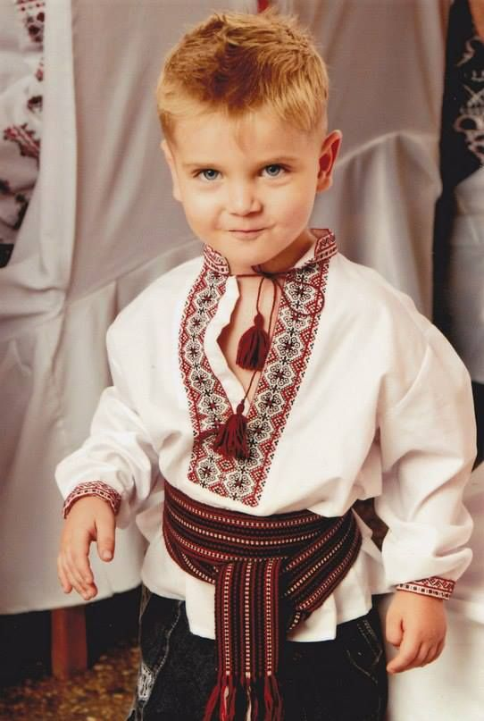 "Ukrainian boy. ""We share the same biology Regardless of ideology Believe me when I say to you I hope the Russians love their children too"" (Sting)"