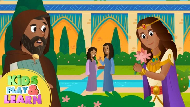 Queen Esther Bible Story For Kids & Children