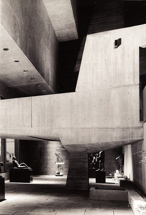 Whitney Museum of American Art by Marcel Breuer