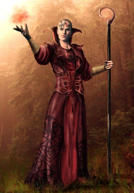Magicien rouge de Thay