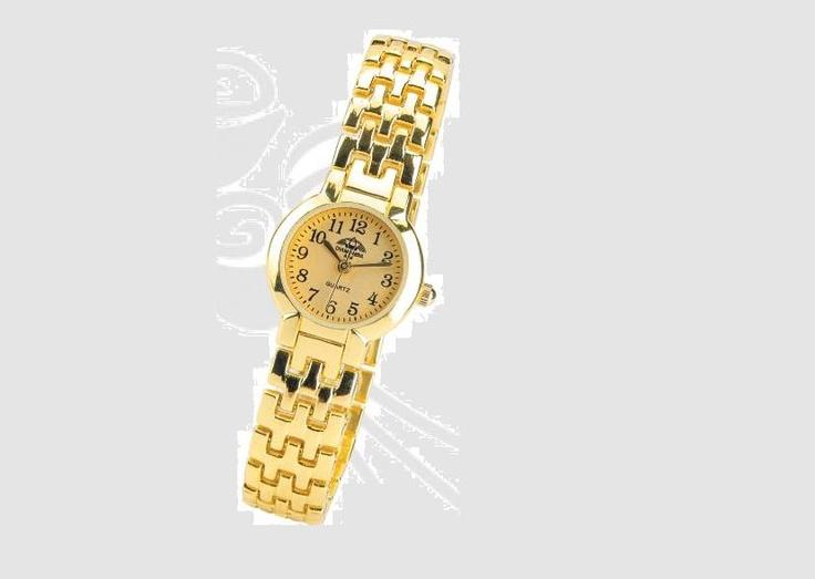 Altav's Ladies Gold Diamante watch #durban #southafrica #watches #fashion