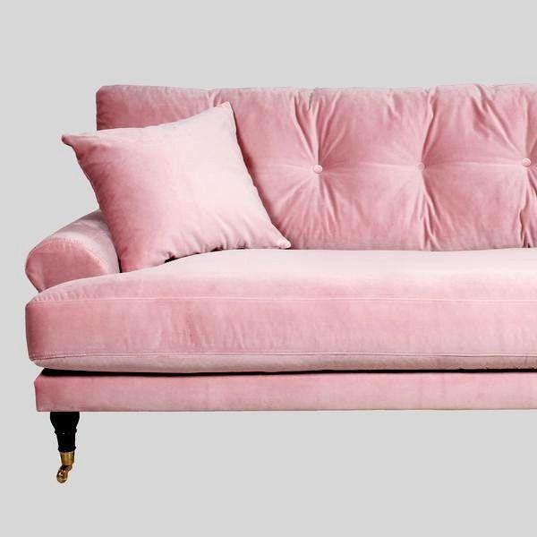 69 Ausgezeichnet Bild Von Schlafsofa Rosa Mit Bildern Rosa Couch Rosa Sofa Rosa Samt