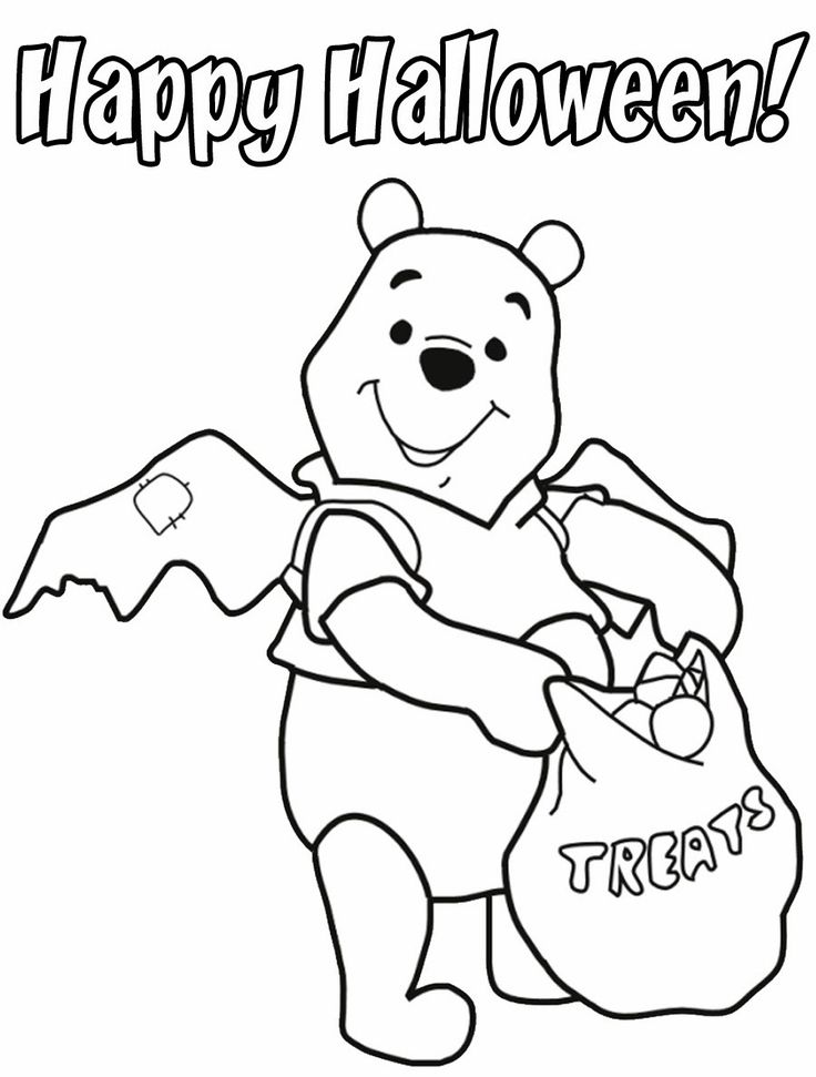 Halloween Coloring Pages Disney Coloring Pages