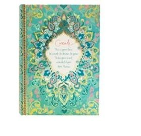 Turquoise Temple 'Create' Journal Intrinsic | threemadfish.com | Australia