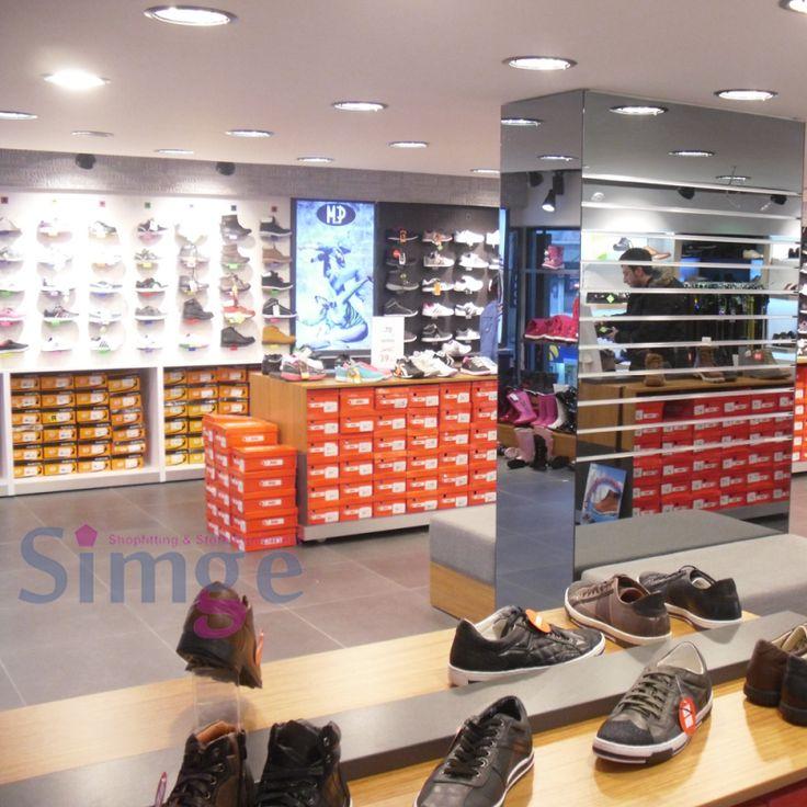 Ayakkabı Mağazası Dekorasyonu 04