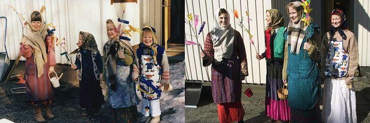 Four Sisters Adorably Recreate Their Childhood Photos - My Modern Metropolis