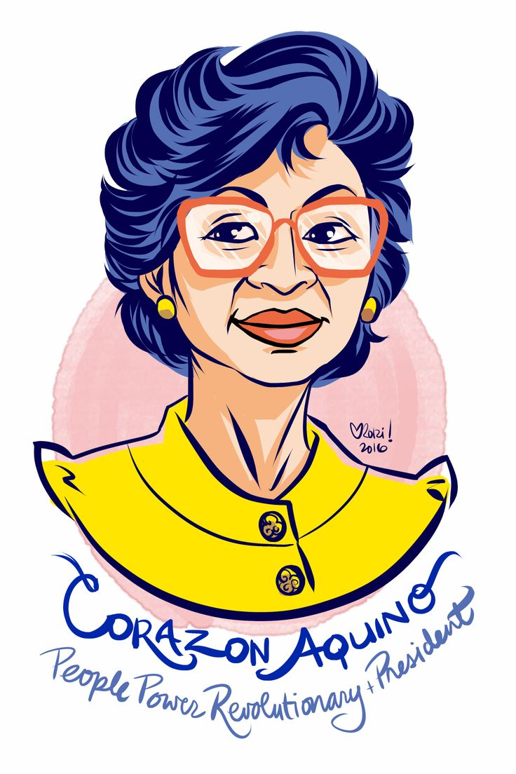#100Days100Women Day 93: Corazon Aquino was the first female president of the Philippines. As a leader of the People Power Revolution she helped pressure dictator Marcos to hold elections. When he narrowly defeated Aquino amidst widespread...