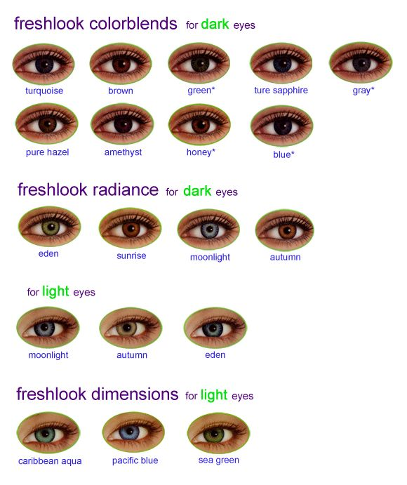 fresh look color contacts - Bing Images