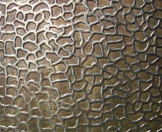 Nickel Silver Texture Metal Sheet Snakeskin Pattern 22g 6 1 8 X 1 7 8 Inches Texture Metal Metal Working