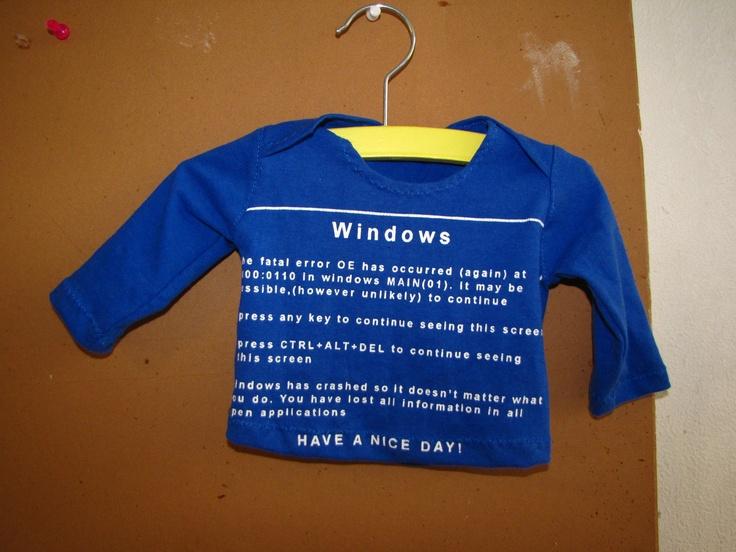 Uit een oud T-shirt geknipt