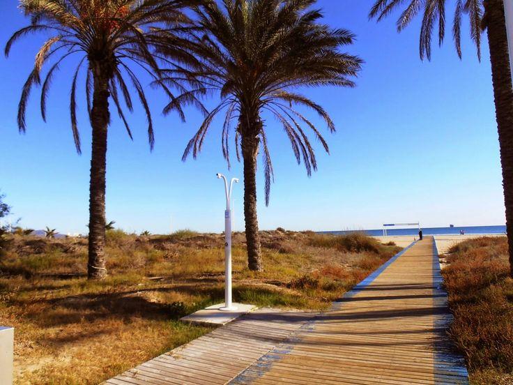 Grao de Castellón, parque del litoral