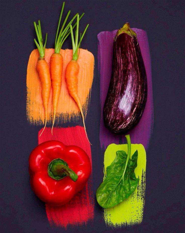 La couleur est surement ce qu'il y a de plus appétissant dans les aliments...