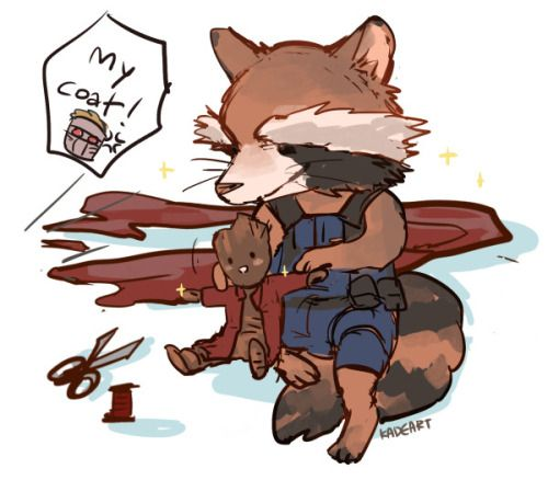 Guardians of the Galaxy || Rocket Raccoon and Groot