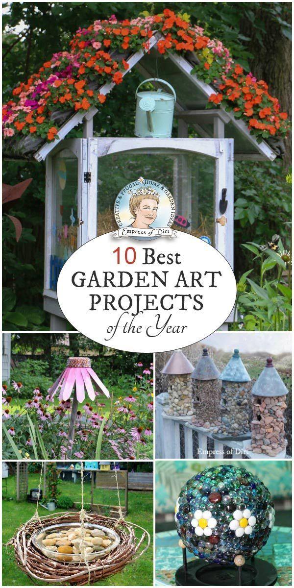 garden art. The Top 10 Creative Garden Art Projects Of Year O
