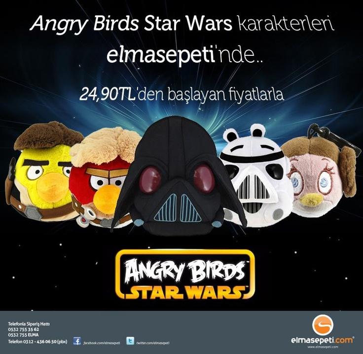 Angry Birds ve Star Wars karakterlerini bir araya getiren ...