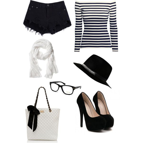 A fashion look from March 2015 featuring H&M tops, Forever New handbags and Tom Ford eyeglasses. Browse and shop related looks.