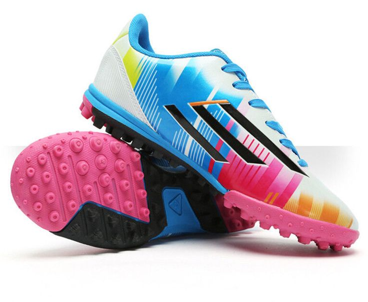 New Football Turf Indoor Soccer Shoes Kids Soccer Cleats Athletic Shoes Youth #JINCAIYUAN #Athletic