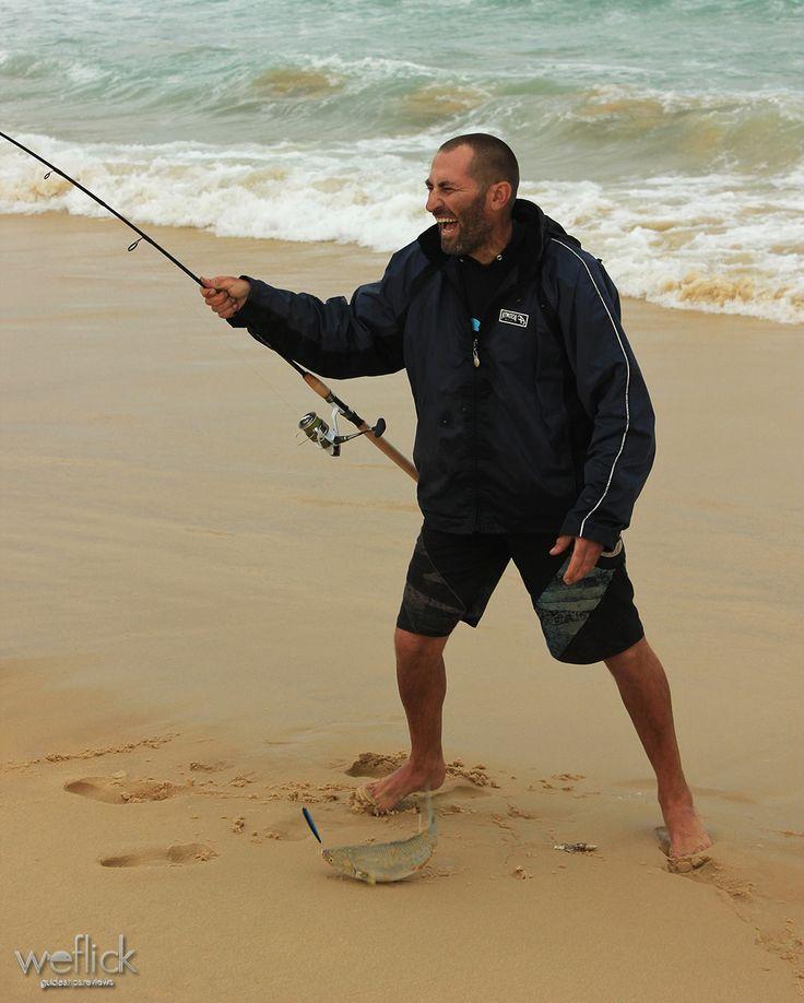 Land based lure fishing for Australian Salmon with Chris Villani