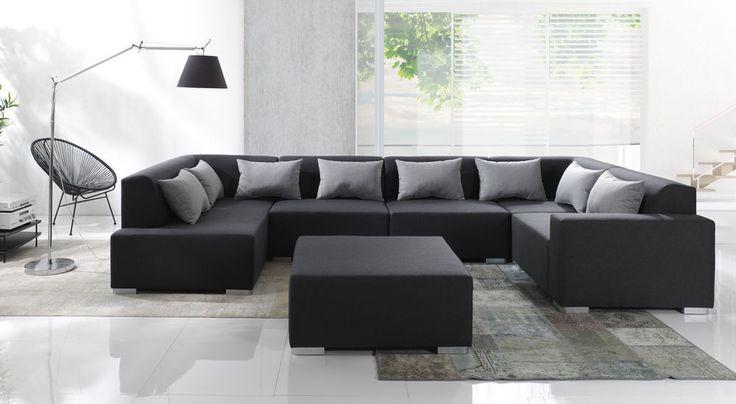 Details zu Couchgarnitur COUCH CUBIC 6 Polsterecke Sofa Eckcouch - big sofa oder wohnlandschaft