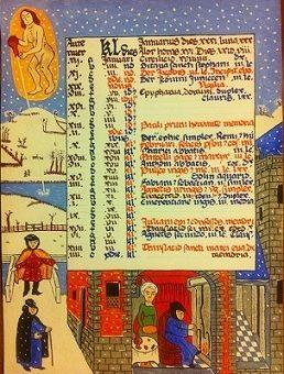 kalendarz na styczeń