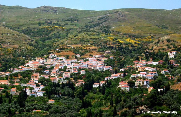 Stenies, Andros, Greece
