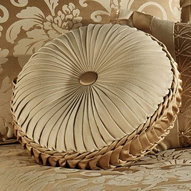 Gold Round Throw Pillow : 17 Best images about Pillow talk on Pinterest Suede fabric, Throw pillow covers and Antique gold