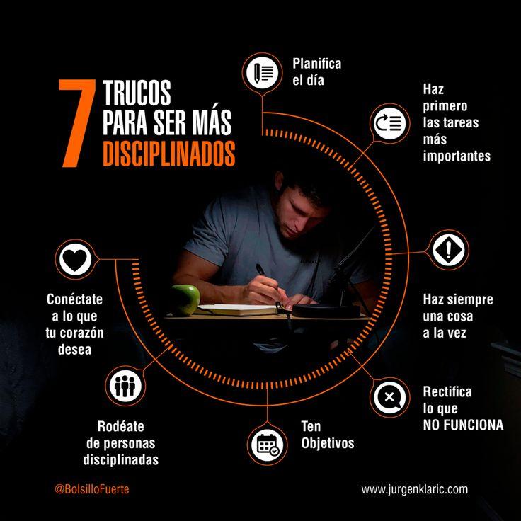 7 TRUCOS PARA SER MÁS DISCIPLINADOS