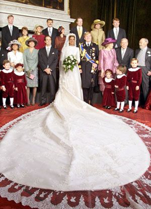 The wedding of Prince Willem-Alexander and Princess Maxima      02-02-02 The Netherlands