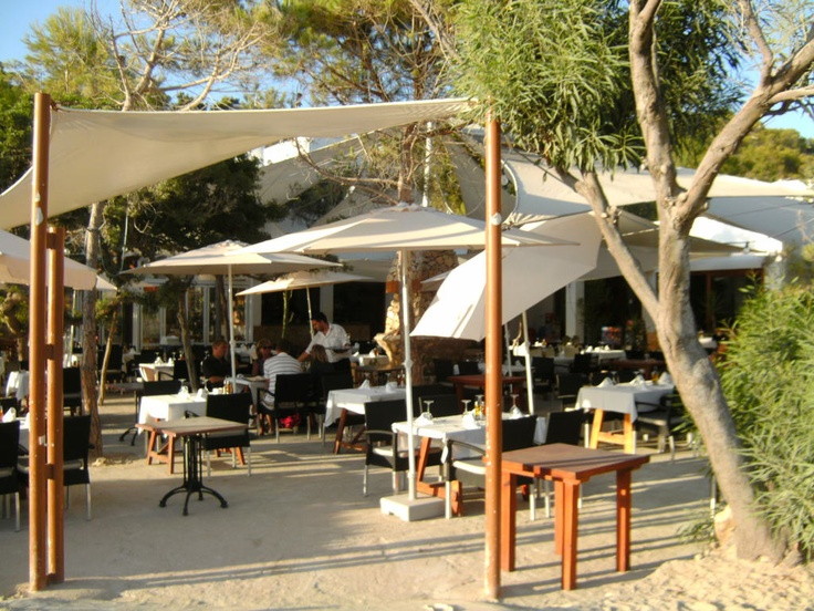 Restaurant Can Jaume at Cala Vadella - Ibiza