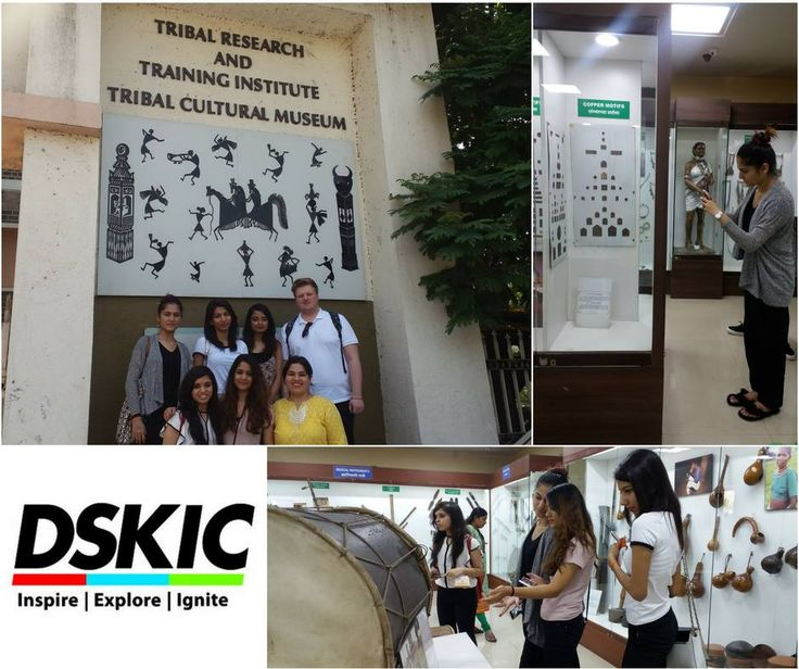 Here are some snapshots from our recent visit to The Tribal Museum,#Puneas a part of the fashion design programme. At DSKIC, we believe that these activities provide our students industry insight, inspiration, awareness, and knowledge of various cultures that helps them to excel in the world of fashion.#DSKIC