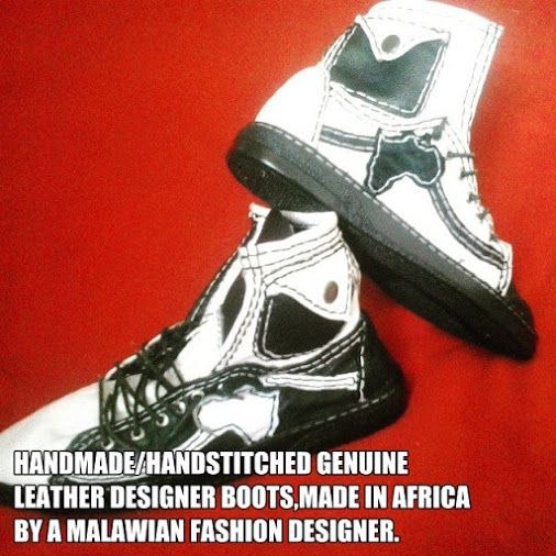 HANDMADE GENUINE LEATHER SHOES,MADE BY A MALAWIAN FASHION DESIGNER