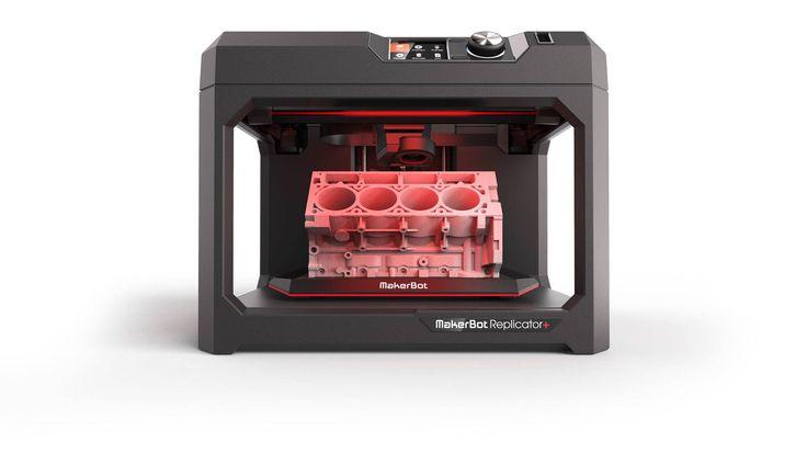 #3D Drucker #MakerBot #MP07825EU   MakerBot Replicator+ Fused Deposition Modeling (FDM) WLAN Schwarz 3D-Drucker  PLA 1.75mm, eine DüseMakerBot 3D-Drucker Replicator+.    Hier klicken, um weiterzulesen.  Ihr Onlineshop in #Zürich #Bern #Basel #Genf #St.Gallen