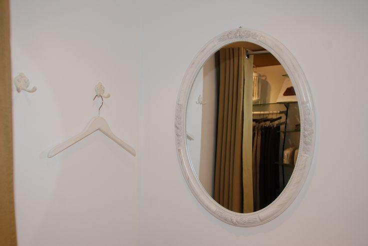 Frauen-Umkleidekabine.