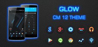 Glow CM12 Theme v3.3  Lunes 5 de Octubre 2015.By : Yomar Gonzalez ( Androidfast )   Glow CM12 Theme v3.3 Requisitos: 5.0 y arriba Descripción: tema Glow CM12 está diseñado para trabajar con el motor del tema CyanogenMod. Glow CM12 tema está diseñado para trabajar con el motor del tema CyanogenMod. Glow es una combinación única de acentos oscuros y el azul fresco con botones realistas con efecto impresionante resplandor. Es la primera en su clase con textura de fondo y ciertos elementos…