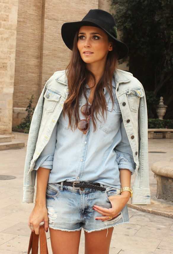 18 Ways To Wear A Denim Jacket - Fashion Diva Design