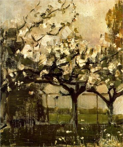 Alberi - Piet Mondrian, 1908