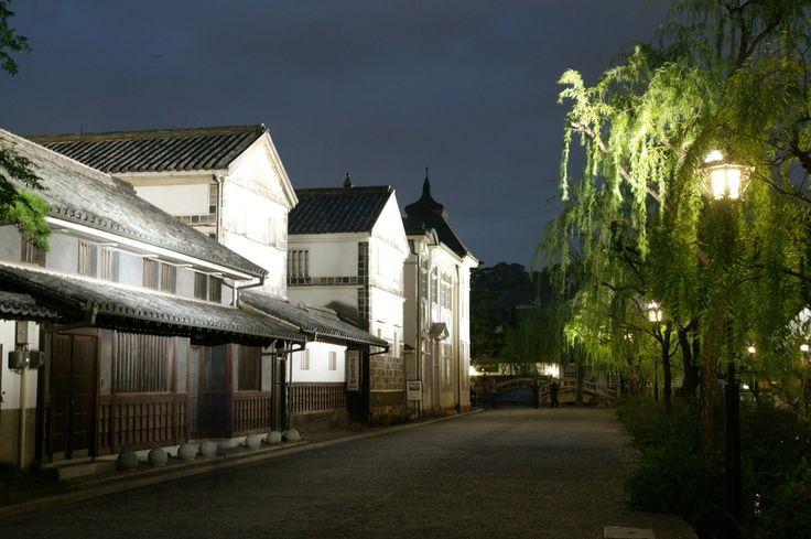 美観地区夜間景観照明 - 岡山県観光総合サイト おかやま旅ネット|岡山県観光連盟