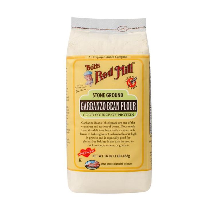 Bob's Red Mill, Garbanzo Bean Flour, Stone Ground, 16 oz (453 g) - iHerb.com