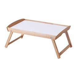 IKEA - DJURA, Bed tray, Easy to fold up and easy to move.