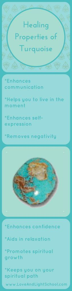 Healing Properties of Turquoise
