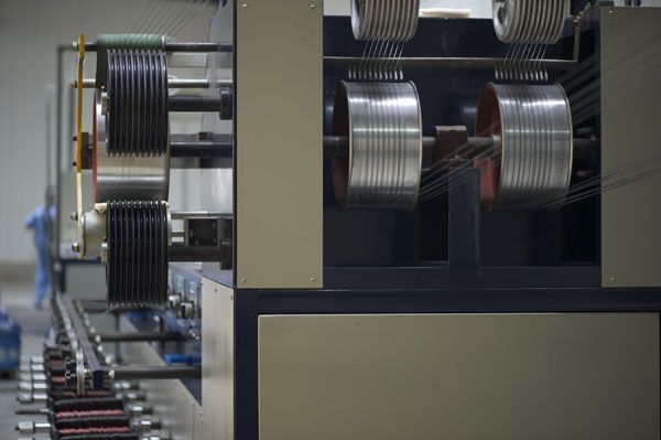 machine for enameled aluminum wire