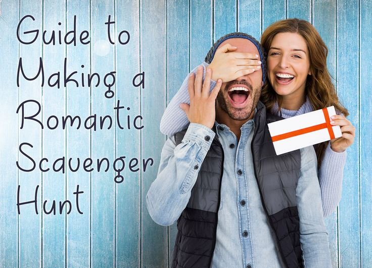 Here is a 8 step guide to making a romantic scavenger hunt for your significant other!