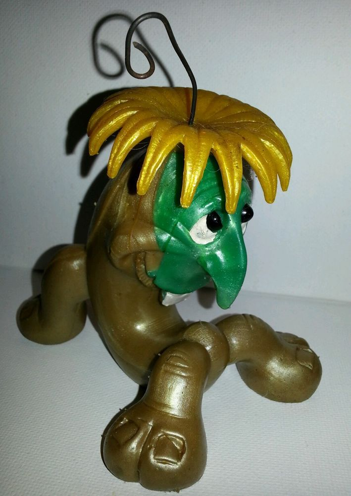 Vintage 1967 Russ Berrie &co. Oily Jiggler, Squirmy Wormy