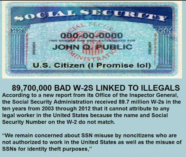 Image result for social security for illegals