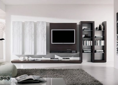 Browse Our Gallery Of Modern TV Wall Units And Tips For How To Integrate  The Modern TV Wall Unit Designs For Living Room And Modern TV Stands In The  Living ... Part 64