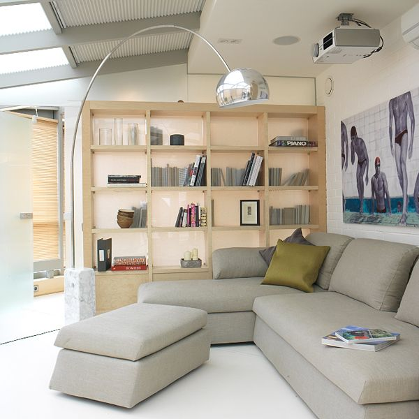Ooh, it could be a bit like this with the velux windows - like the L shaped sofa too