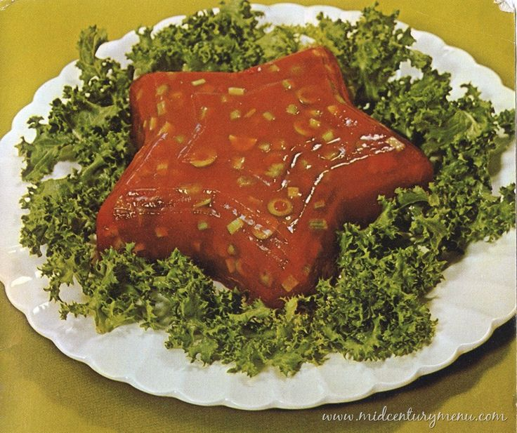 Tomato Aspic Mould. At night, this thing lies in its lettucey bed, pulsing and glowing, no doubt sending signals to the Mother Mould.