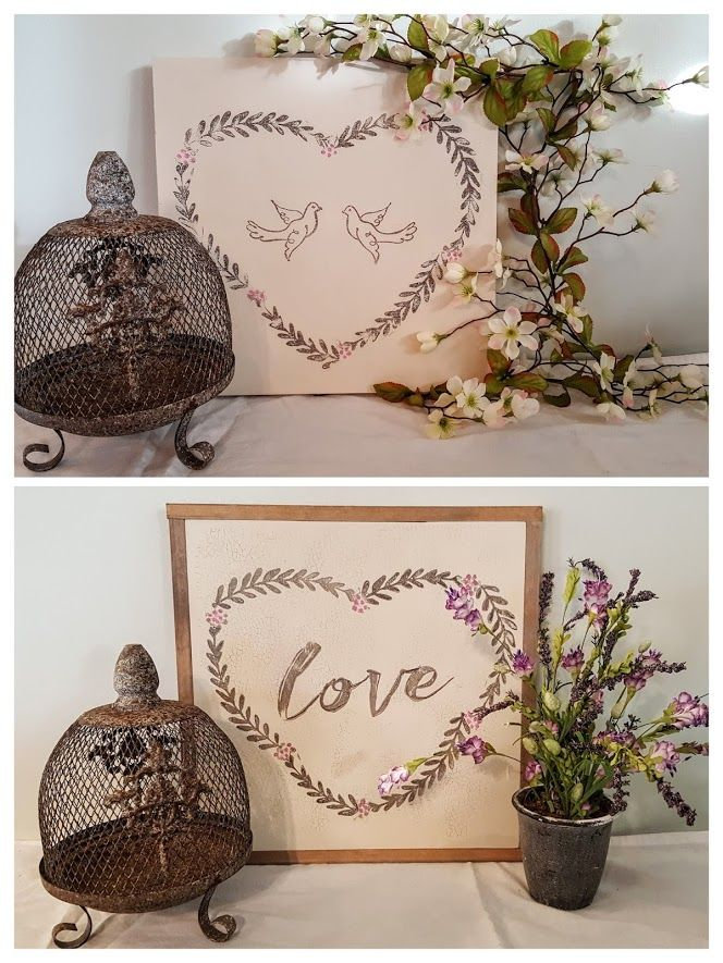 Wreath Making Stamp by Iron Orchid Designs