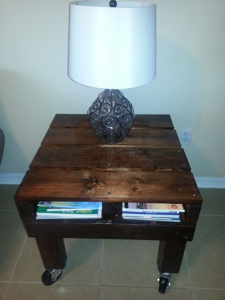Pallet End Table $249