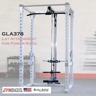 Body-Solid GLA378 Lat Attachment / option for GPR378 power rack